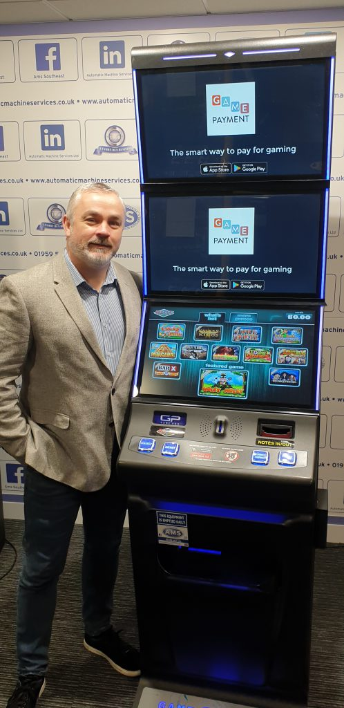 Jason Jarrett Game Pro fruit machine