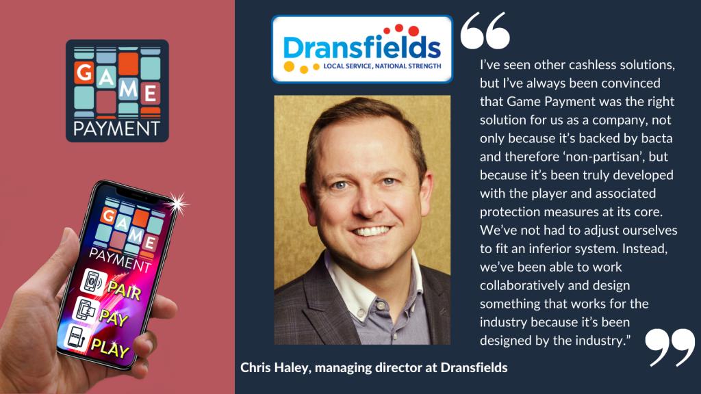 Dransfields Chris Haley
