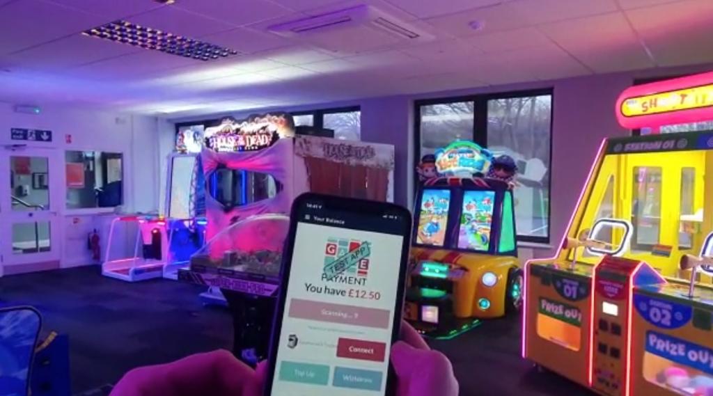 Game Payment Amusements SEGA